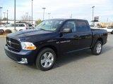 2012 True Blue Pearl Dodge Ram 1500 Express Crew Cab 4x4 #60111857