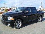 2012 Black Dodge Ram 1500 Express Crew Cab 4x4 #60111856