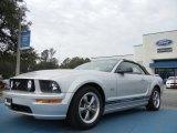 2006 Satin Silver Metallic Ford Mustang GT Premium Convertible #60111353