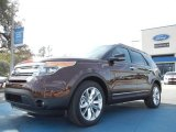 2012 Cinnamon Metallic Ford Explorer XLT #60111345