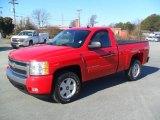 2007 Victory Red Chevrolet Silverado 1500 LT Regular Cab 4x4 #60111840