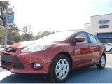 2012 Red Candy Metallic Ford Focus SE Sedan #60111338