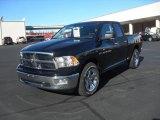 2012 Black Dodge Ram 1500 Big Horn Quad Cab #60111771