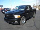 2012 Black Dodge Ram 1500 Express Quad Cab 4x4 #60111769