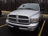 2005 Bright Silver Metallic Dodge Ram 1500 SLT Quad Cab 4x4 #60111747