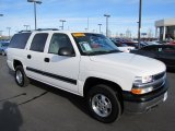 2001 Summit White Chevrolet Suburban 1500 LS 4x4 #60111730