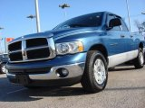 2005 Atlantic Blue Pearl Dodge Ram 1500 SLT Quad Cab #60181423