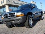 2004 Atlantic Blue Pearl Dodge Dakota SLT Club Cab 4x4 #60181422