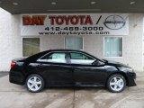 2012 Attitude Black Metallic Toyota Camry SE #60181417