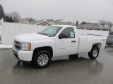 2011 Summit White Chevrolet Silverado 1500 LS Regular Cab 4x4 #60181950