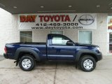 2012 Nautical Blue Metallic Toyota Tacoma Regular Cab 4x4 #60181410