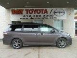 2012 Predawn Gray Mica Toyota Sienna SE #60181405