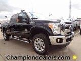 2012 Black Ford F250 Super Duty Lariat Crew Cab 4x4 #60181369