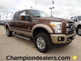 2012 Golden Bronze Metallic Ford F250 Super Duty King Ranch Crew Cab 4x4 #60181368