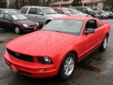 2006 Torch Red Ford Mustang V6 Deluxe Coupe #60181363