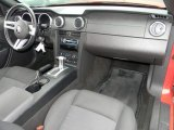 2006 Ford Mustang V6 Deluxe Coupe Black Interior