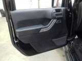 2012 Jeep Wrangler Call of Duty: MW3 Edition 4x4 Door Panel