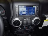 2012 Jeep Wrangler Call of Duty: MW3 Edition 4x4 Controls