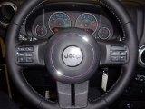 2012 Jeep Wrangler Call of Duty: MW3 Edition 4x4 Steering Wheel