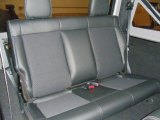 2012 Jeep Wrangler Call of Duty: MW3 Edition 4x4 Rear Seat
