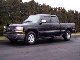 2001 Onyx Black Chevrolet Silverado 1500 LS Extended Cab 4x4 #60181624
