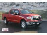 2012 Barcelona Red Metallic Toyota Tundra CrewMax 4x4 #60181301