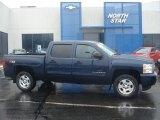 2009 Imperial Blue Metallic Chevrolet Silverado 1500 LT Crew Cab 4x4 #60181555