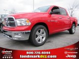2012 Flame Red Dodge Ram 1500 Big Horn Crew Cab #60181520