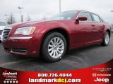 2012 Deep Cherry Red Crystal Pearl Chrysler 300  #60181511