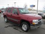 2005 Sport Red Metallic Chevrolet Tahoe LS 4x4 #60181709