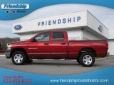 2007 Inferno Red Crystal Pearl Dodge Ram 1500 TRX4 Off Road Regular Cab 4x4 #60181439