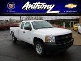 2012 Summit White Chevrolet Silverado 1500 Work Truck Extended Cab 4x4 #60233423