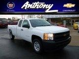2012 Summit White Chevrolet Silverado 1500 Work Truck Extended Cab 4x4 #60233421