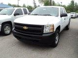 2011 Summit White Chevrolet Silverado 1500 Extended Cab 4x4 #60233144