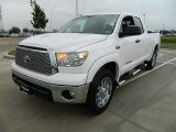 2012 Super White Toyota Tundra Texas Edition Double Cab 4x4 #60232849