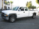 2002 Chevrolet Silverado 2500 LS Extended Cab Utility Truck Data, Info and Specs