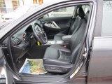 2008 Toyota Camry SE V6 Dark Charcoal Interior