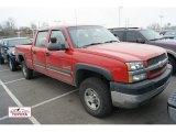 2003 Victory Red Chevrolet Silverado 2500HD LT Crew Cab 4x4 #60232739