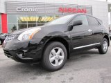 2012 Super Black Nissan Rogue S Special Edition #60233022