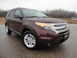 2011 Bordeaux Reserve Red Metallic Ford Explorer XLT #60232647