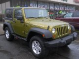 2007 Jeep Wrangler Rescue Green Metallic
