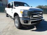 2012 White Platinum Metallic Tri-Coat Ford F250 Super Duty Lariat Crew Cab 4x4 #60232983