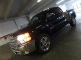 2012 Black Chevrolet Silverado 1500 LT Extended Cab 4x4 #60232968