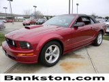 2007 Redfire Metallic Ford Mustang GT Premium Convertible #60232621