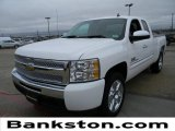 2009 Summit White Chevrolet Silverado 1500 LT Extended Cab #60232615