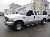 2004 Oxford White Ford F250 Super Duty XLT SuperCab 4x4 #60232962