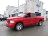 2002 Flame Red Dodge Ram 1500 SLT Quad Cab 4x4 #60232960