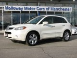 2008 White Diamond Pearl Acura RDX  #60290041