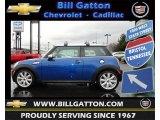 2007 Laser Blue Metallic Mini Cooper S Hardtop #60290033