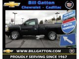 2009 Black Chevrolet Silverado 1500 LT Regular Cab #60290029